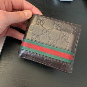 Mens Gucci Wallet -  Authentic